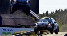 Rallye Finnland - achter Lauf zur Rallyeweltmeisterschaft 2012