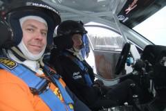 Testing Tommi Mäkinen Racing Subaru R4